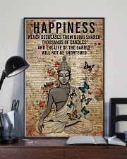 Poster Yoga happiness 24x36 Poster lifestyle-poster-2