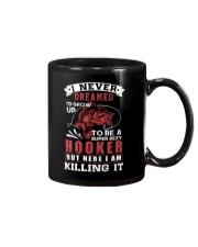 hooker-killing it Mug thumbnail