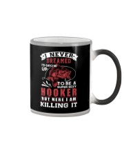 hooker-killing it Color Changing Mug thumbnail