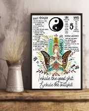 Poster Yoga inhale  24x36 Poster lifestyle-poster-3