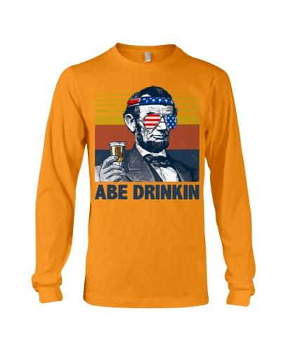 Funny Abe drinkin