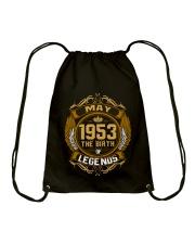 May 1953 The Birth of Legends Drawstring Bag thumbnail