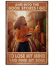 Poster Book and bookstores i go lose my mind 24x36 Poster front