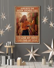 Poster Book and bookstores i go lose my mind 24x36 Poster lifestyle-holiday-poster-1