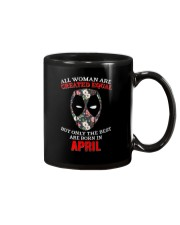 April Created equal Mug thumbnail