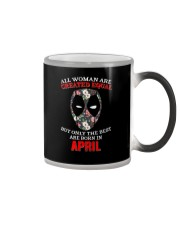 April Created equal Color Changing Mug thumbnail