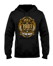May 1981 The Birth of Legends Hooded Sweatshirt thumbnail