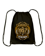 August 1957 The Birth of Legends Drawstring Bag thumbnail