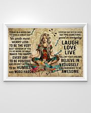 Yoga Makes You Happy Poster - Canvas  36x24 Poster poster-landscape-36x24-lifestyle-02