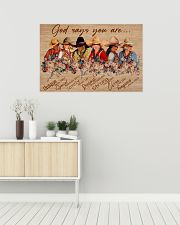 Poster horse god say you are 36x24 Poster poster-landscape-36x24-lifestyle-01