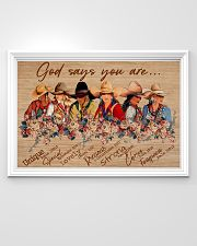 Poster horse god say you are 36x24 Poster poster-landscape-36x24-lifestyle-02