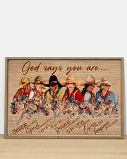 Poster horse god say you are 36x24 Poster poster-landscape-36x24-lifestyle-03