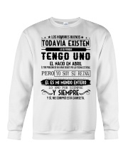 Abril -existen Crewneck Sweatshirt tile