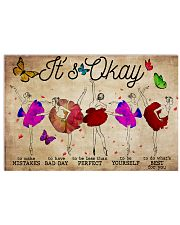 Poster Ballet its ok 36x24 Poster front