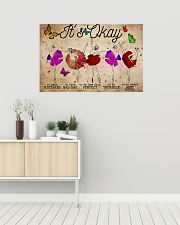 Poster Ballet its ok 36x24 Poster poster-landscape-36x24-lifestyle-01