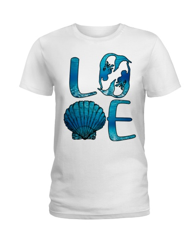 Mermaid love ocean