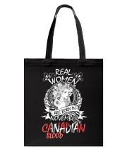 11 women canadian Tote Bag tile