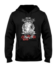 11 women canadian Hooded Sweatshirt tile