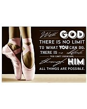 Poster Ballet all thing are posible 36x24 Poster front