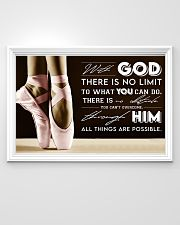 Poster Ballet all thing are posible 36x24 Poster poster-landscape-36x24-lifestyle-02