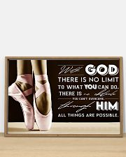 Poster Ballet all thing are posible 36x24 Poster poster-landscape-36x24-lifestyle-03