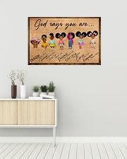 Poster black queen strong girl 36x24 Poster poster-landscape-36x24-lifestyle-01