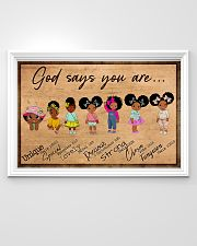 Poster black queen strong girl 36x24 Poster poster-landscape-36x24-lifestyle-02