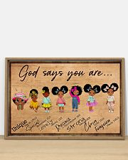 Poster black queen strong girl 36x24 Poster poster-landscape-36x24-lifestyle-03
