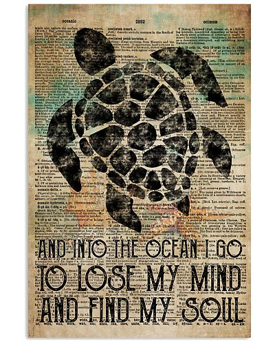 Poster Mermaid the ocean i go