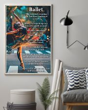 Poster Ballet dance is life 24x36 Poster lifestyle-poster-1