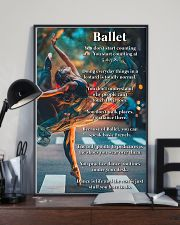 Poster Ballet dance is life 24x36 Poster lifestyle-poster-2