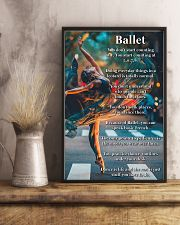 Poster Ballet dance is life 24x36 Poster lifestyle-poster-3