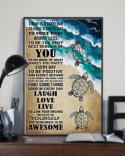 Poster Mermaid today is good day 24x36 Poster lifestyle-poster-2