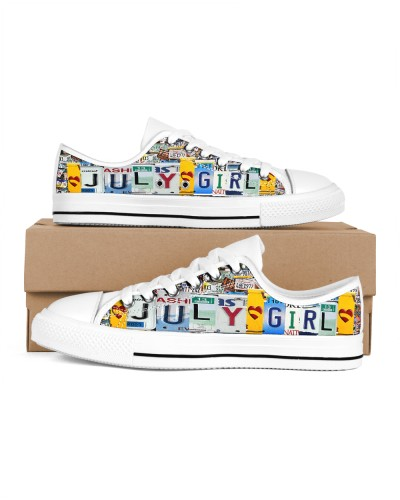 July Girl Shoes lowtop
