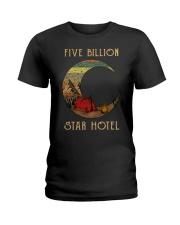 camping star hotel Ladies T-Shirt thumbnail