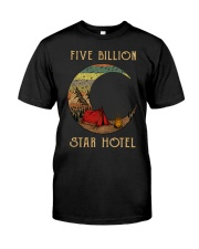 camping star hotel Classic T-Shirt front
