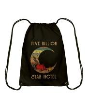 camping star hotel Drawstring Bag thumbnail