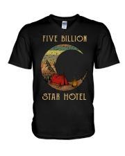 camping star hotel V-Neck T-Shirt thumbnail