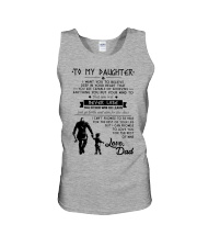 To my daughter Unisex Tank thumbnail