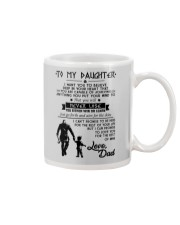 To my daughter Mug front