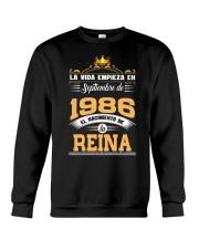 Septiembre 1986 Reina Crewneck Sweatshirt thumbnail