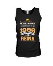 Septiembre 1986 Reina Unisex Tank thumbnail