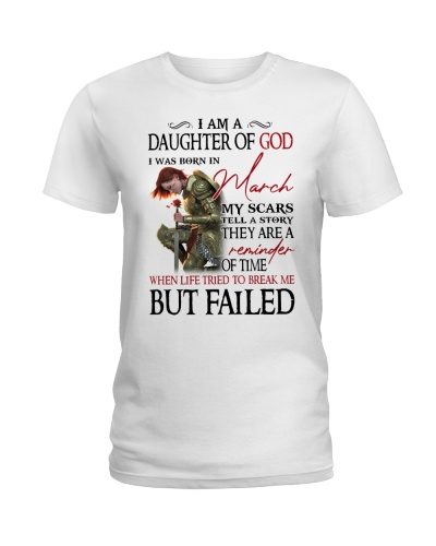 March daughter of god