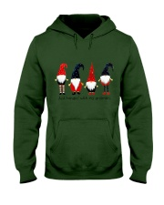 Christmas 4 santas Hooded Sweatshirt thumbnail