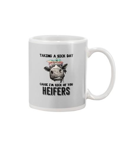 heifers taking a sick day