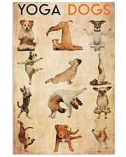 Poster Yoga yoga dog 24x36 Poster front