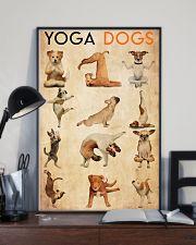Poster Yoga yoga dog 24x36 Poster lifestyle-poster-2