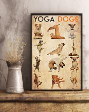 Poster Yoga yoga dog 24x36 Poster lifestyle-poster-3