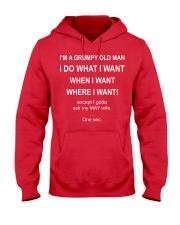 May man want Hooded Sweatshirt thumbnail