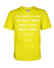 May man want V-Neck T-Shirt thumbnail